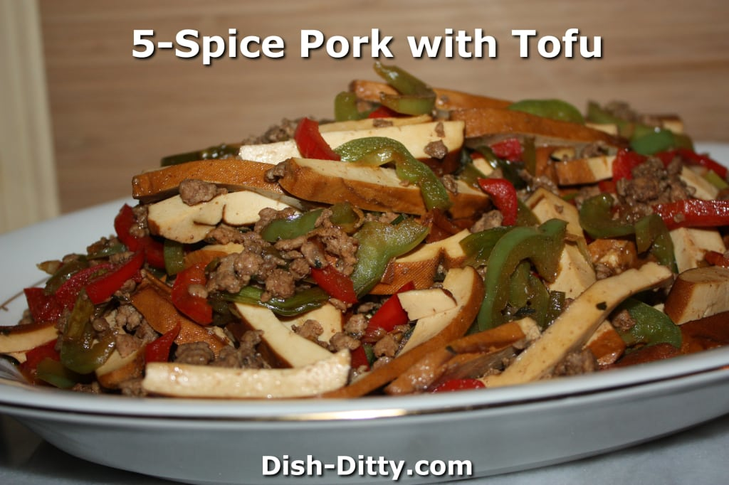 Five Spice Pork with Tofu by Dish Ditty