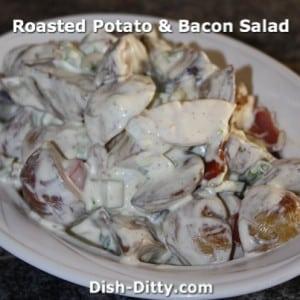 Roasted Potato & Bacon Salad