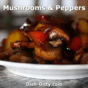 Chinese Mushrooms & Peppers