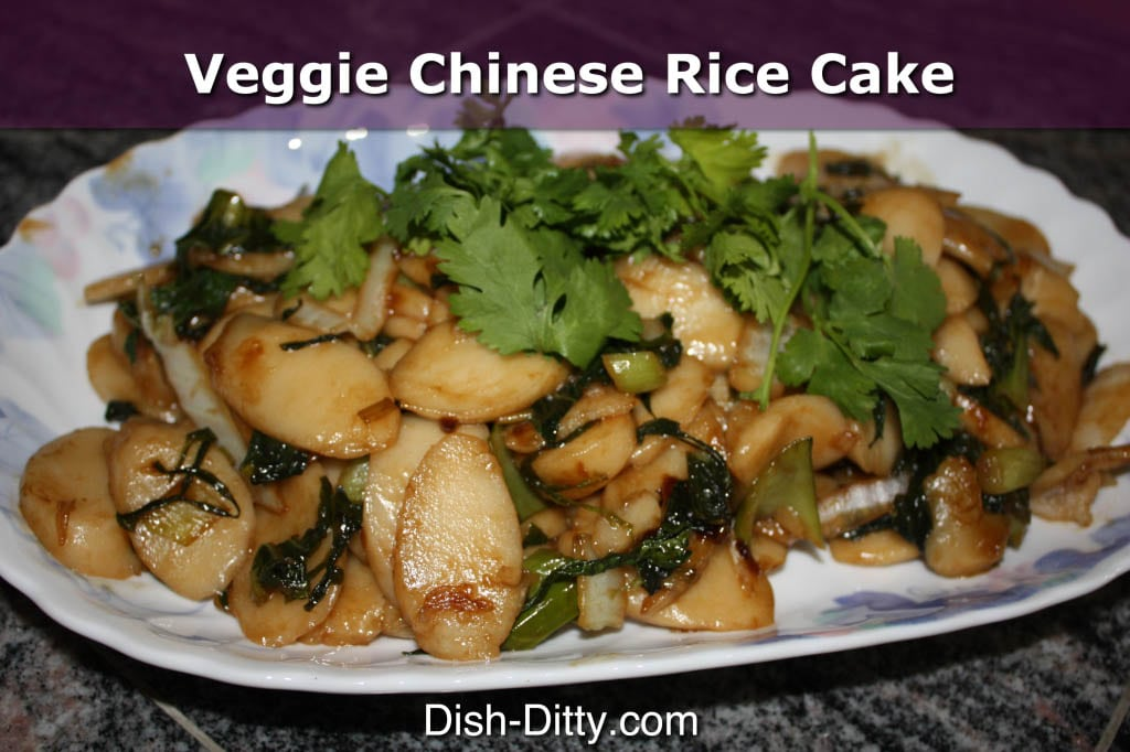 Vegetable Chinese Rice Cake Noodles by Dish Ditty