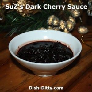 Dark Cherry Sauce