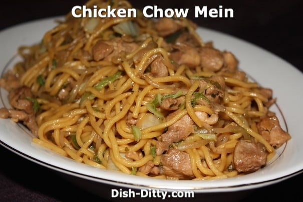 Chicken Chow Mein by Dish Ditty Recipes