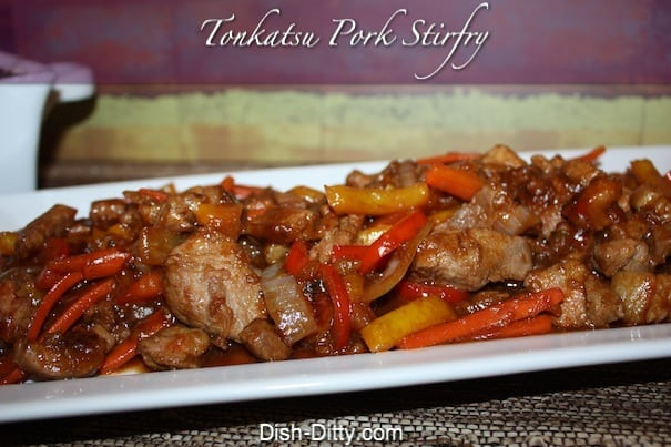 Tonkatsu Pork Stirfry by Dish Ditty Recipes