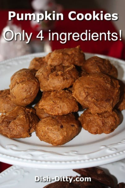 Pumpkin Cookies by Dish Ditty Recipes