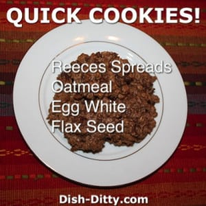 Reeces Quick Cookies (Gluten Free)