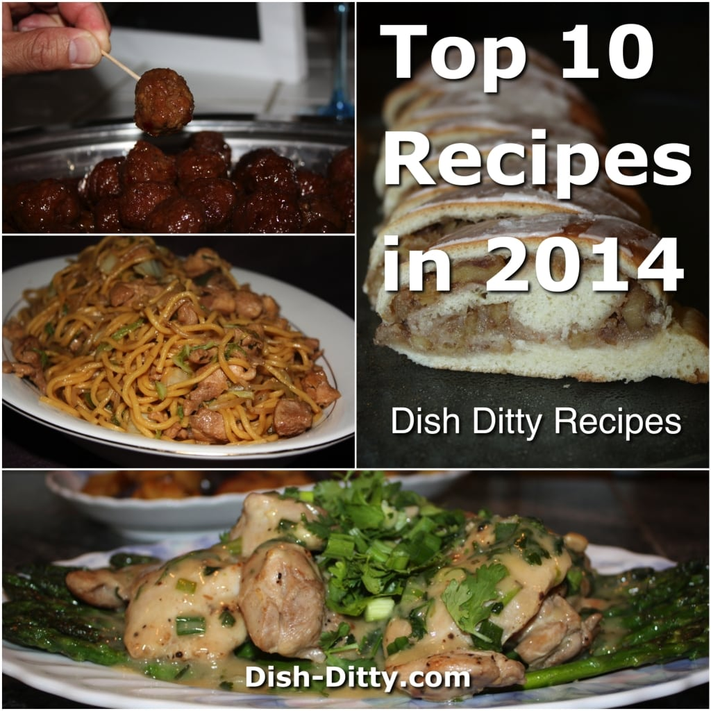 Dish Ditty's 2014 Top 10 Recipes