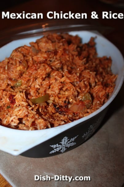 Mexican Chicken & Rice by Dish Ditty Recipes