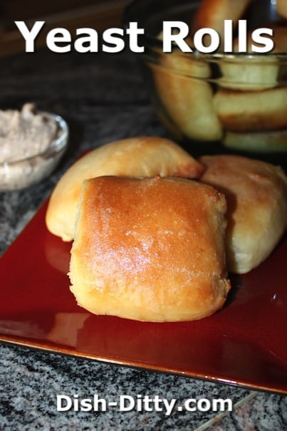 Yeast Rolls with Honey Cinnamon Butter Recipe