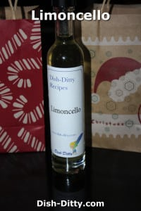 Limoncello by Dish Ditty Recipes