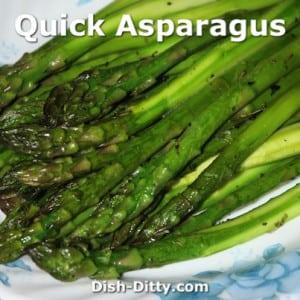 Quick Asparagus