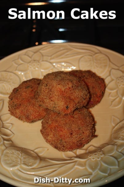 Salmon Cakes by Dish Ditty Recipes