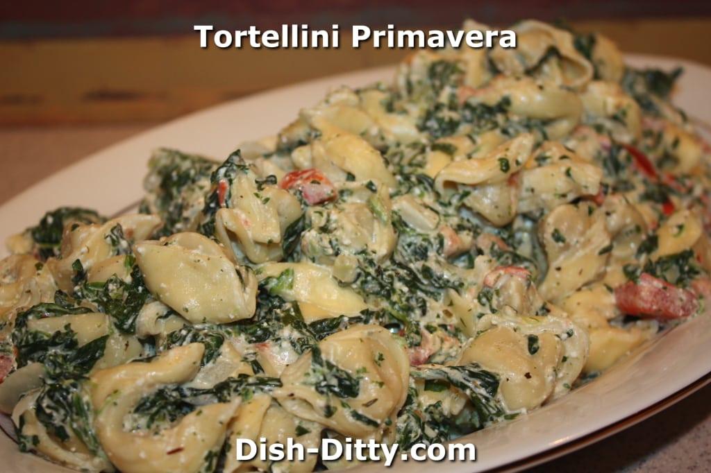 Tortellini Primavera by Dish Ditty Recipes