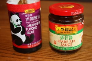 Sauces used