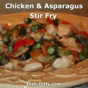 Chicken Asparagus Stir-Fry