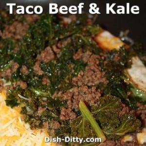 Taco Beef & Kale