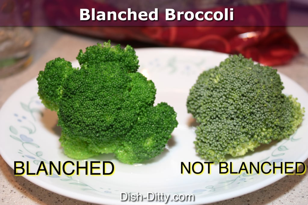Blanch your Veggies!