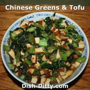 Chinese Greens & Tofu