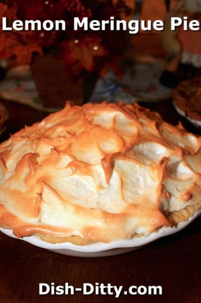 Lemon Meringue Pie by Dish Ditty Recipes