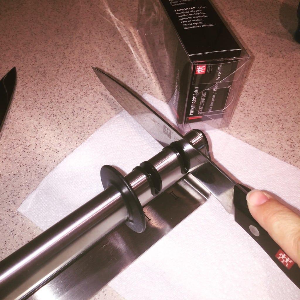 Sharpen knives...