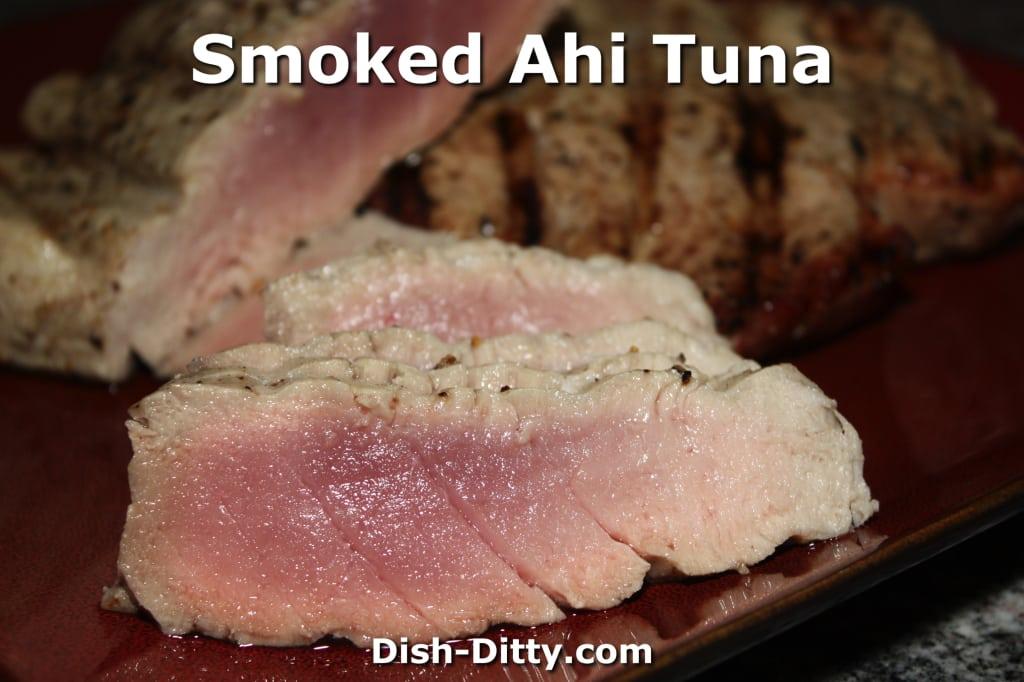 Smoked Ahi Tuna by Dish Ditty Recipes