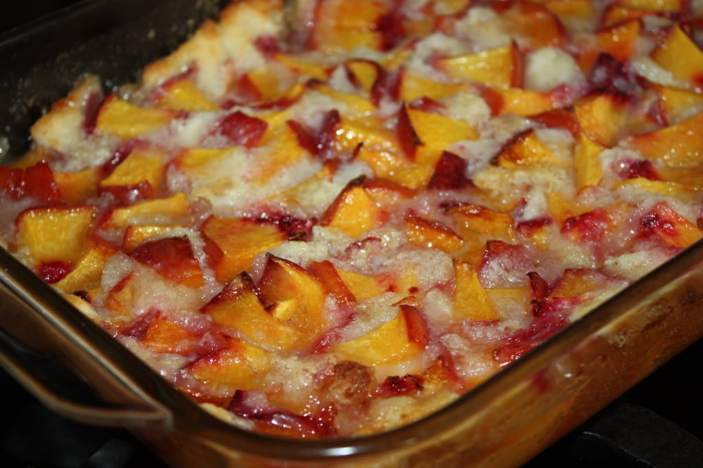Magic Peach Cobbler Take 1