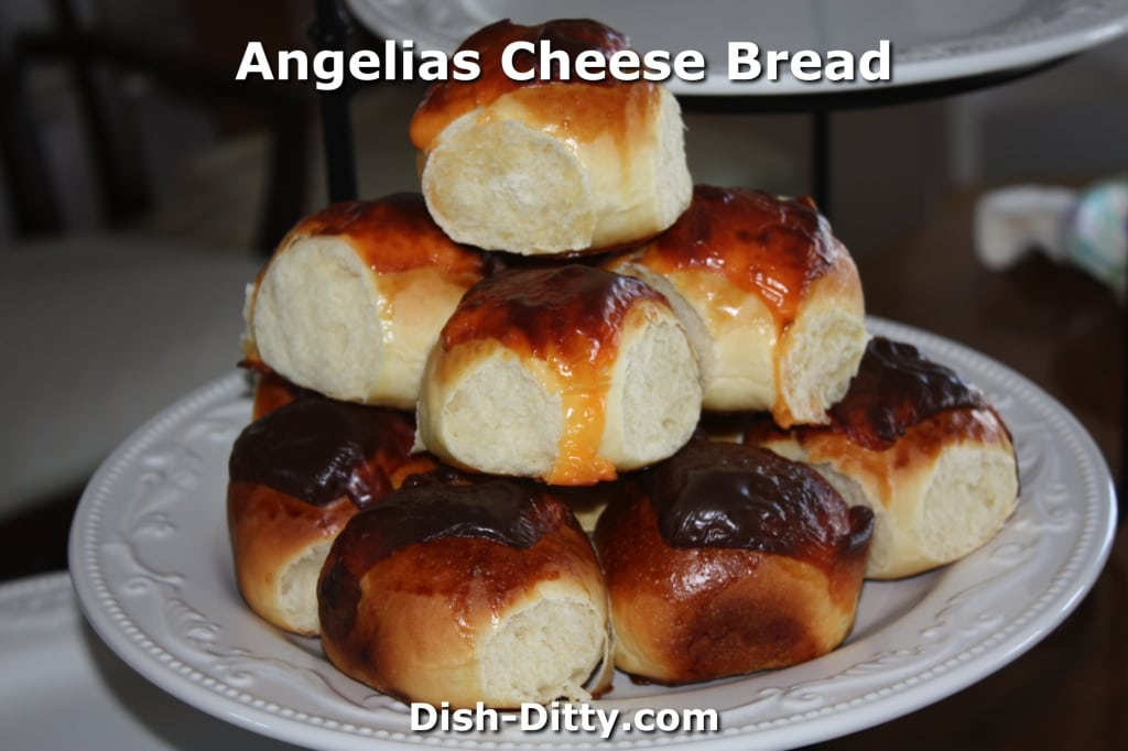Angelia's Cheese Bread by Dish Ditty Recipes