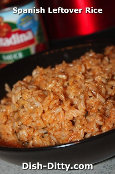 Spanish Leftover Rice by Dish Ditty Recipes