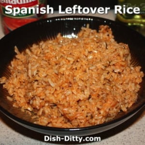 Spanish Leftover Rice