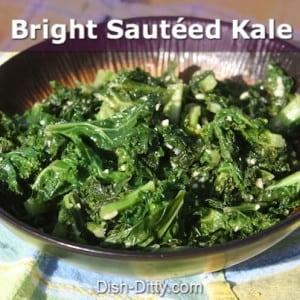 Bright Sautéed Kale