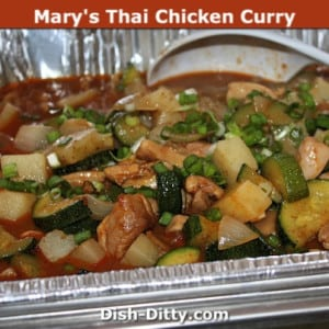 Mary's Thai Chicken Curry (Pangang Curry Chicken)
