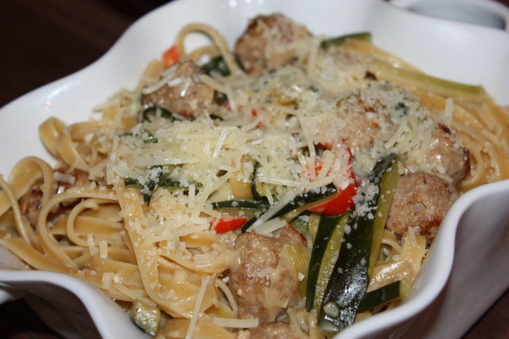 Sausage & Peppers Pasta by Dish Ditty Recipes