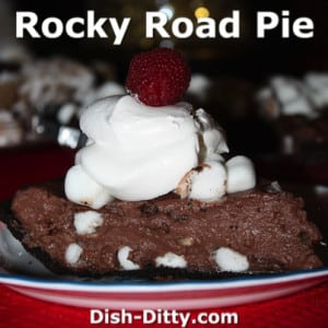 Rocky Road Pudding Pie