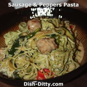 Sausage & Peppers Pasta