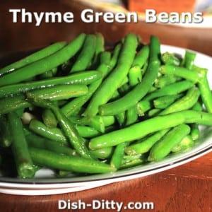 Thyme Green Beans