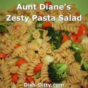 Aunt Diane's Zesty Pasta Salad