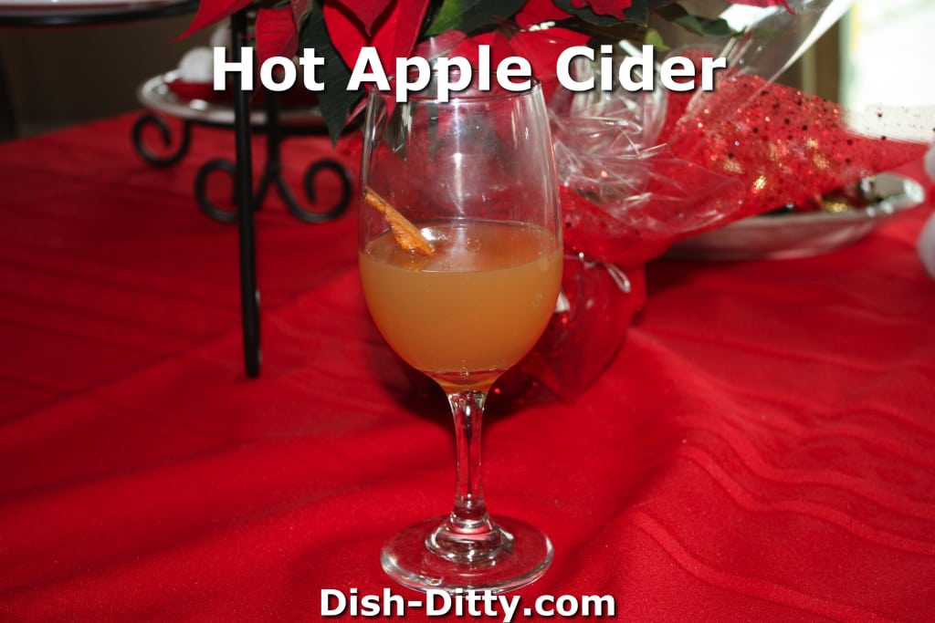 Hot Apple Cider by Dish Ditty Recipes