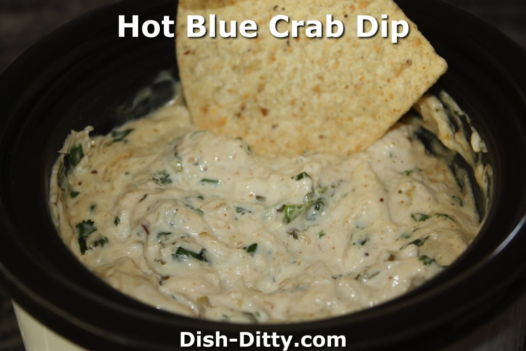 Hot Blue Crab Dip by Dish Ditty Recipes