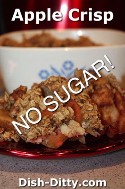 Apple Crisp (No Added Sugar) by Dish Ditty Recipes