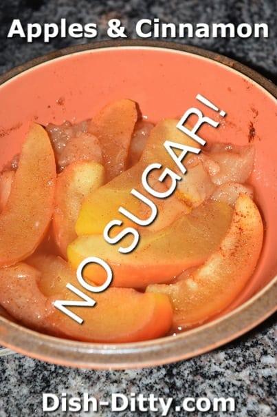 No Sugar Apples & Cinnamon by Dish Ditty Recipes