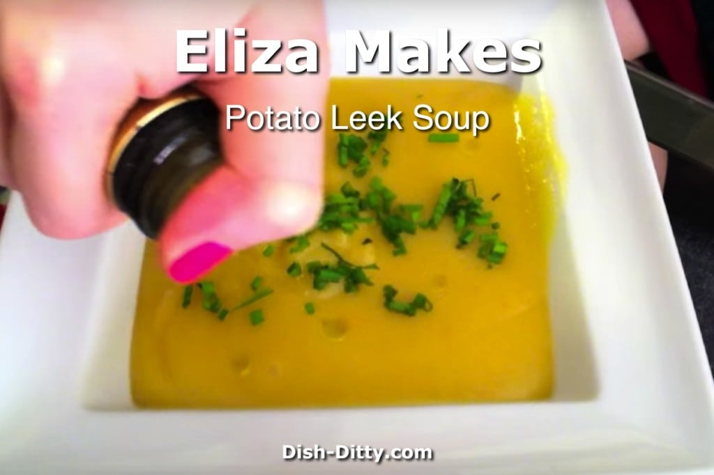 Eliza Makes Potato Leek Soup
