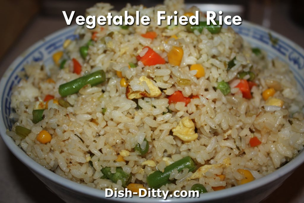 Vegetable Fried Rice by Dish Ditty Recipes