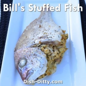 Stuffed Whole Fish