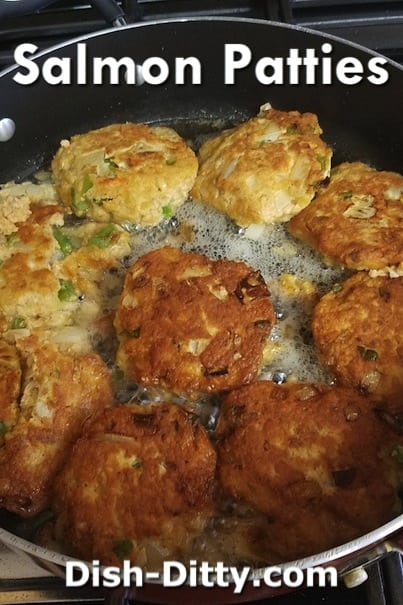 Cherri's Salmon Patties Recipe by Dish Ditty Recipes