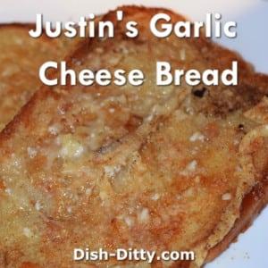 Justin's Garlic Cheese Bread