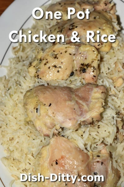 One Pot Chicken & Rice Recipe by Dish Ditty Recipes