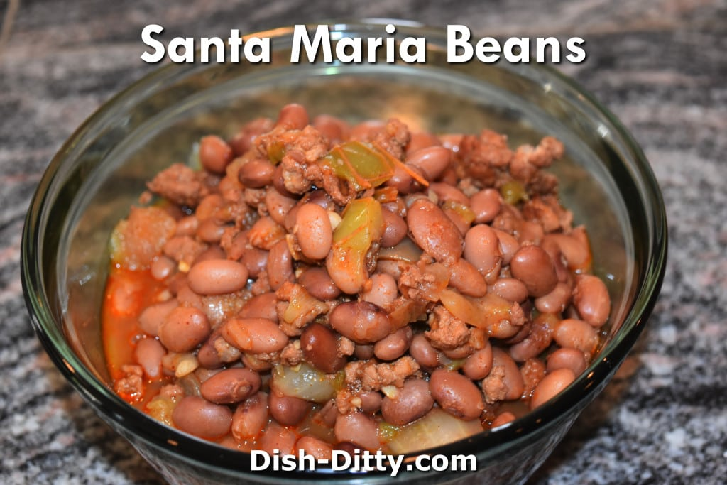Santa Maria Beans Recipe by Dish Ditty Recipes