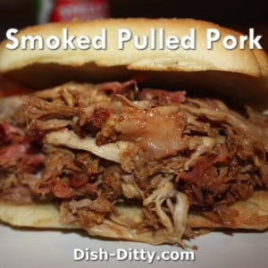 Smoked Pulled Pork