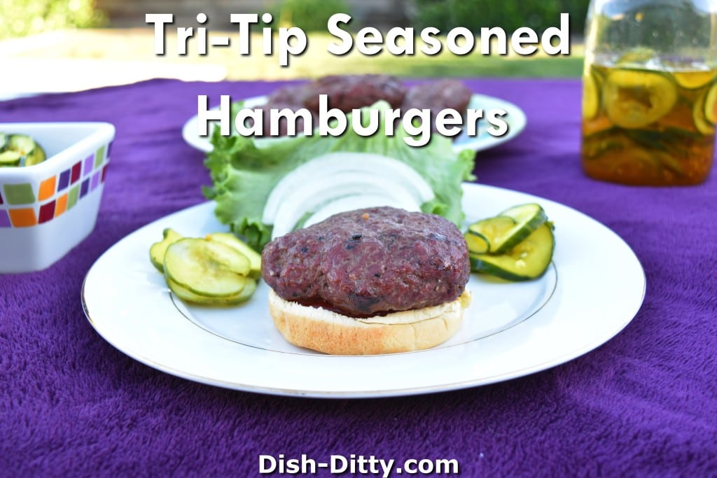 Tri-Tip Seasoned Hamburgers Recipe by Dish Ditty Recipes