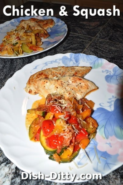 Chicken & Squash Recipe by Dish Ditty Recipes