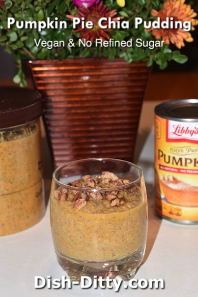 Pumpkin Pie Chia Pudding Recipe by Dish Ditty Recipes